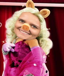Ms. Kozlova- Ms. Kozlova's favorite Halloween costume is Ms. Piggy from the Muppett's. Ms, K believes that her attitude and personality coincide with Ms. Piggy's. Ms. Kozlova also considers Ms. Piggy a role model. She believed that her destiny was to be as famous as Ms. Piggy.