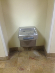 second floor water fountain